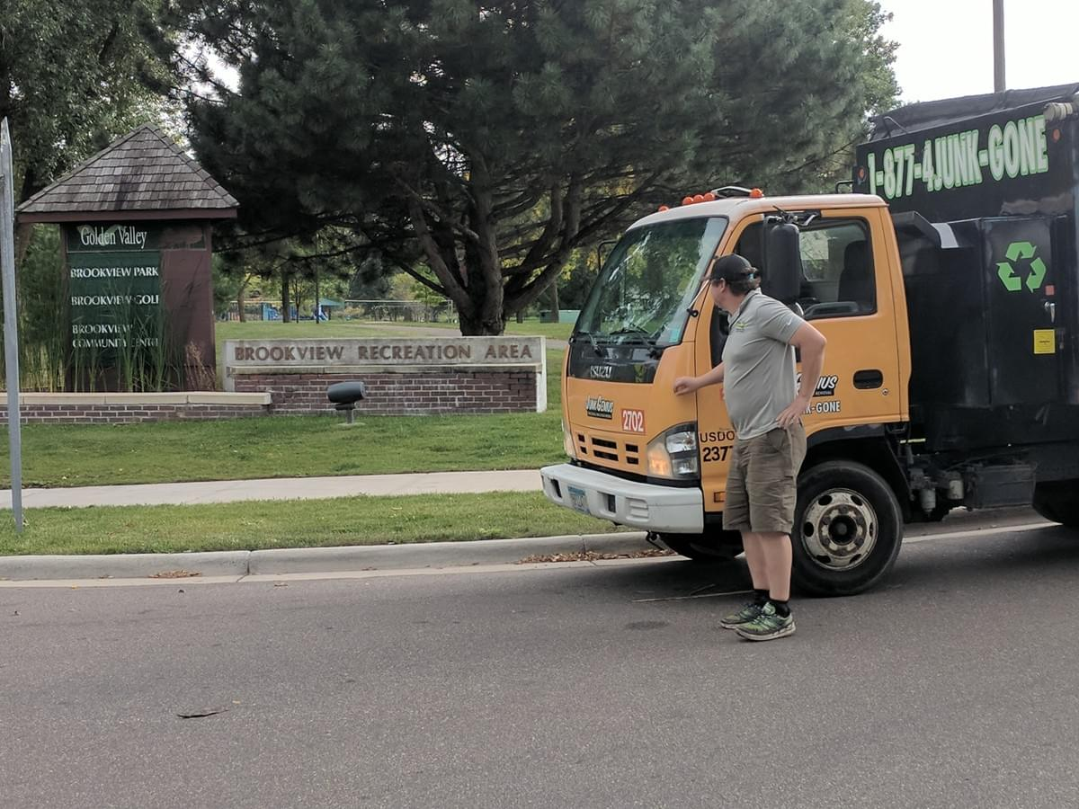 junk removal guys in golden valley