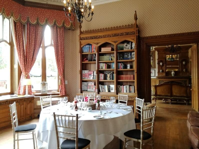 Oakley Court library