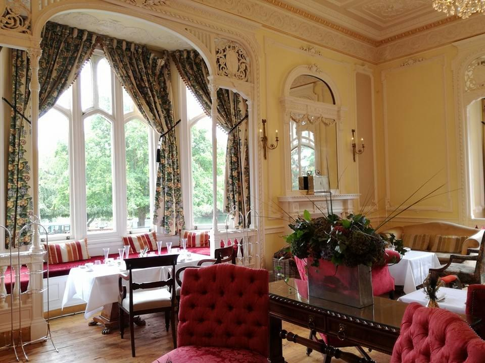 Oakley Court tea room
