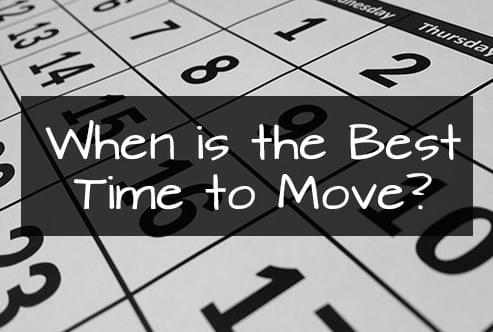 Best Time to Move with movers