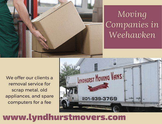 Movers and packers Weehawken nj