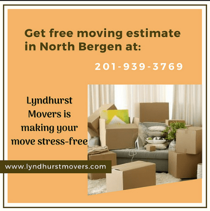 Moving Company in North Bergen nj