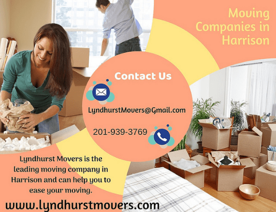 Moving companies in Harrison NJ