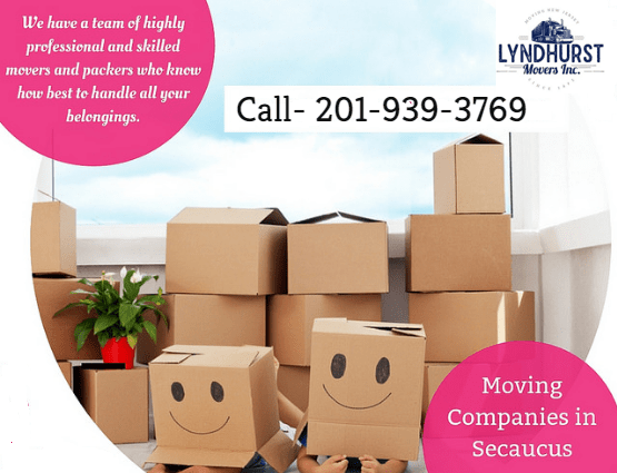 Moving company Secaucus NJ