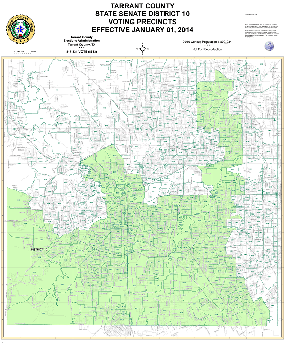 Senate District 10 Map SD10