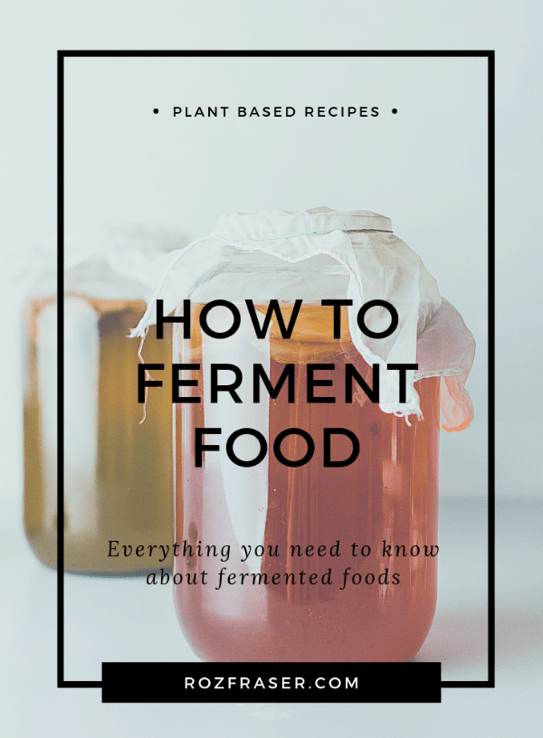 A complete guide to fermentation. Learn about the health benefits of fermented foods and how to ferment food at home. Start with easy basic recipes like sauerkraut and kombucha. Sourdough, kimchi, cheeses and other ferments can also be made at home.