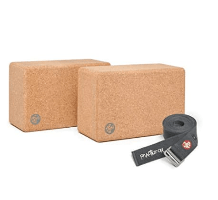 Manduka Yoga Blocks and Strap
