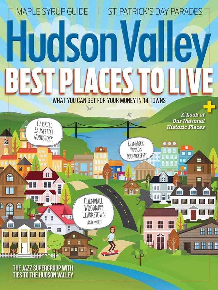 Hudson Valley Magazine, March 2018 Issue