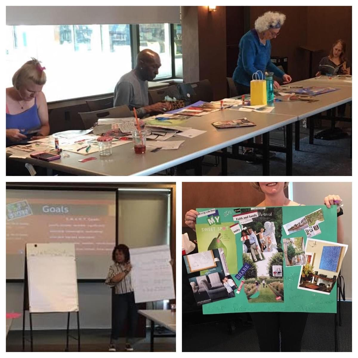 Vision Board Workshop with Lavene Gass