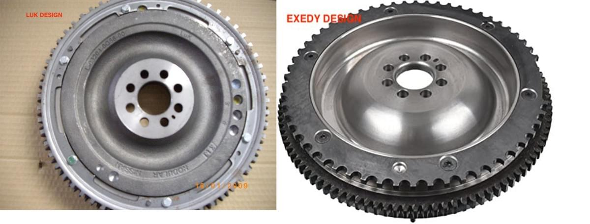 LUK AND EXEDY NISSAN NAVARA SOLID MASS FLYWHEEL  YD25DDTI