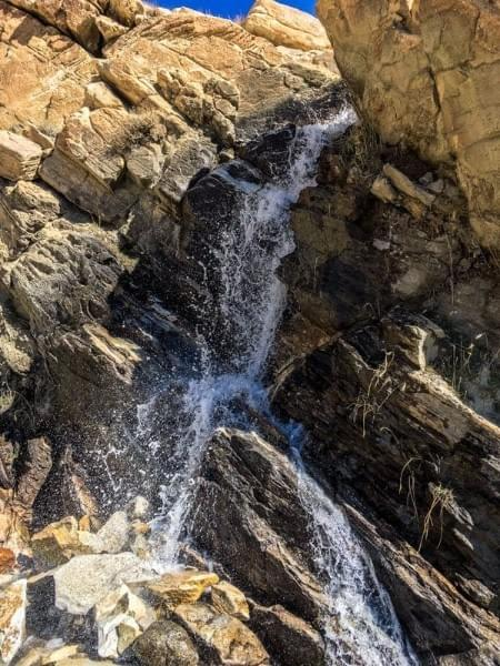 Image showing small waterfall on the trail to Engels Peak