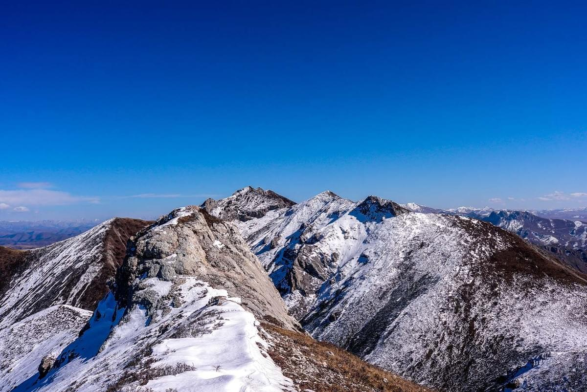 Image showing hiking the Kunlun range in China.