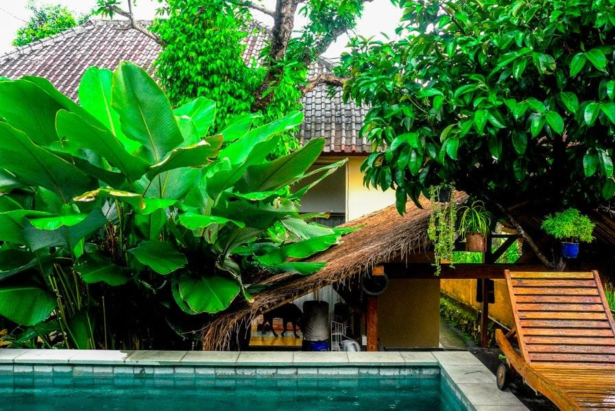 Image showing airBnB homestay in Canggu on Bali, Indonesia.