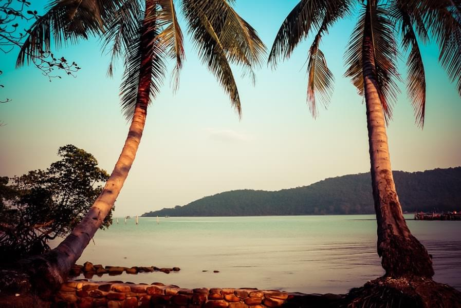 Image showing M'Pay Bay on Koh Rong Samloem in Cambodia