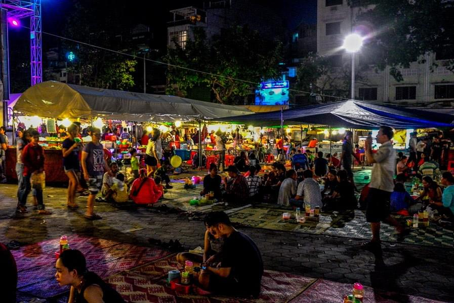 Image showing the nightmarket in Phnom Penh, Cambodia