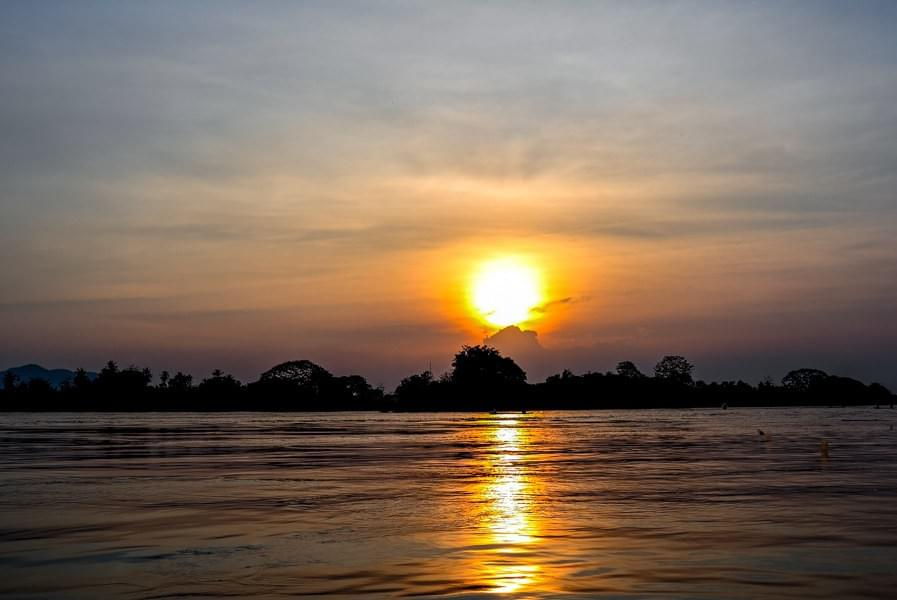 Image showing Mekong sunsets.