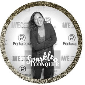 sparkle and conquer social good gift service
