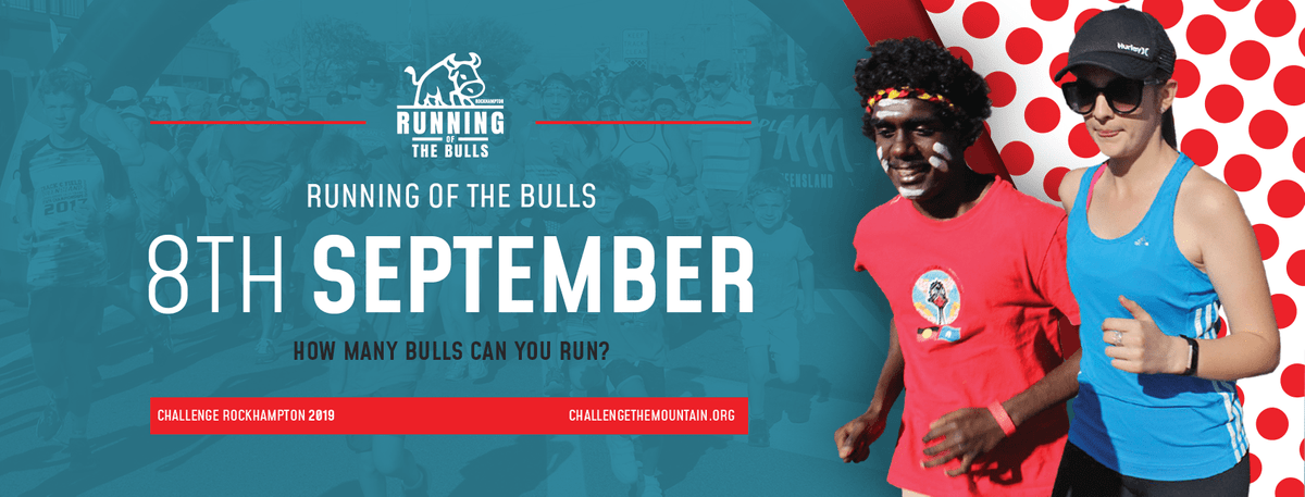 Running of the Bulls - Challenge The Mountain 2019