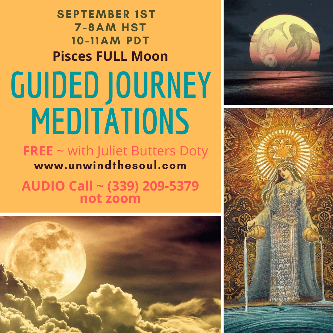 Guided Meditation Full Moon FREE Astrology Reading Spiritual Healing