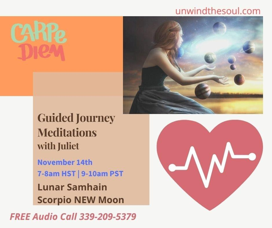 Calm deepen mindfulness healing guided