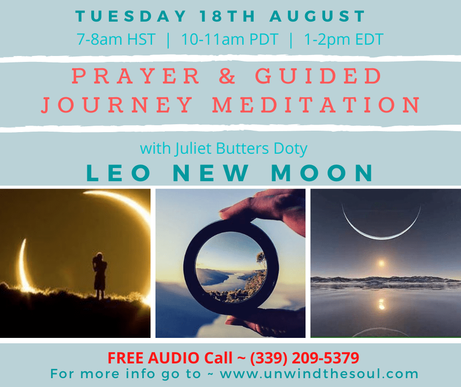 New Moon Meditation August 18th