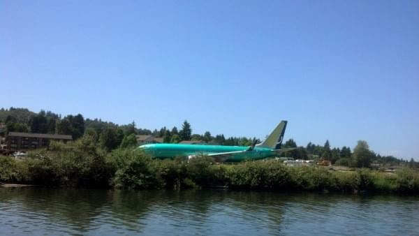 Boeing product at Cedar River Trail + Watershed, Renton, Wash.