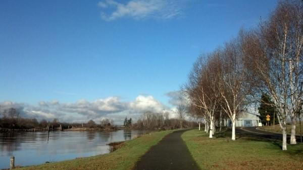 Langus Riverfront Park + Trail, Everett, Wash.