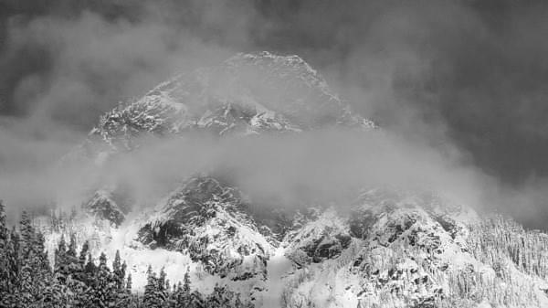 Snoqualmie Pass, Cascade Range, Wash., Winter 2016