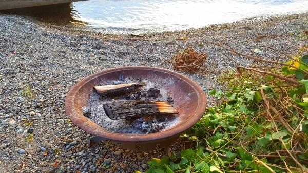 Firepit at Lake Sammamish, June 2, 2017
