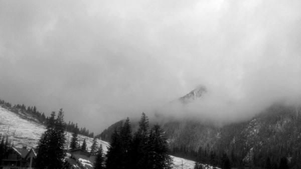West Summit dusting, Snoqualmie Pass, Wash.