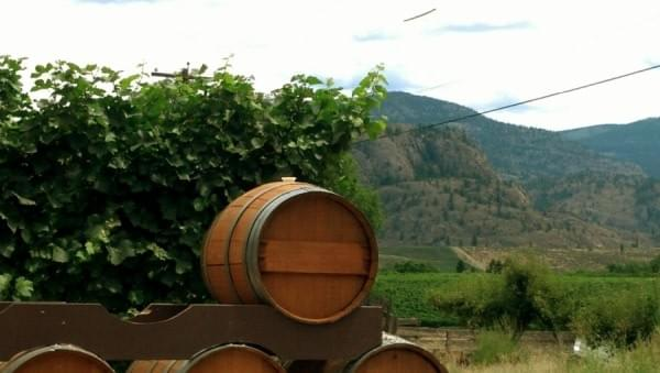 Kismet Estate Winery at Oliver, BC, Canada