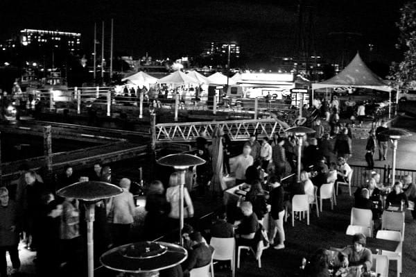 Ship Point Night Market, Victoria, BC, Canada