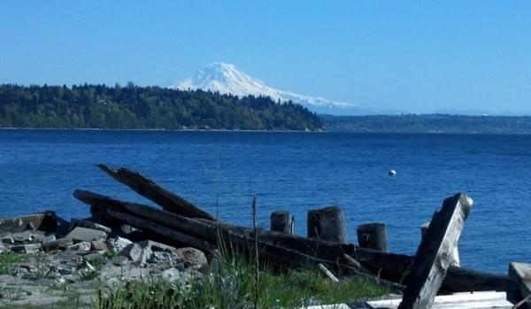 Mt. Rainier via Burien, Wash.