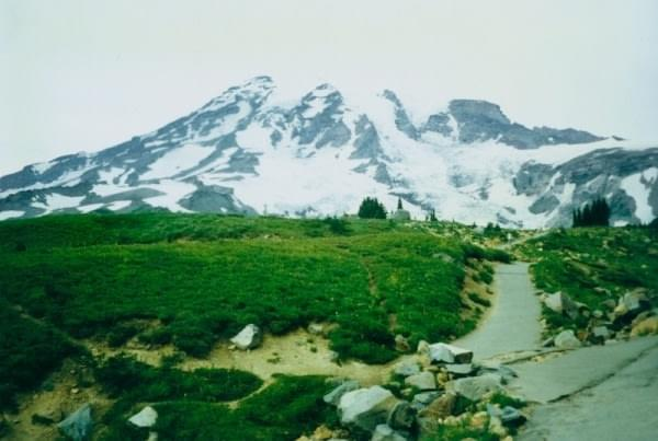 Mt. Rainier at Mt. Rainier National Park, 1997