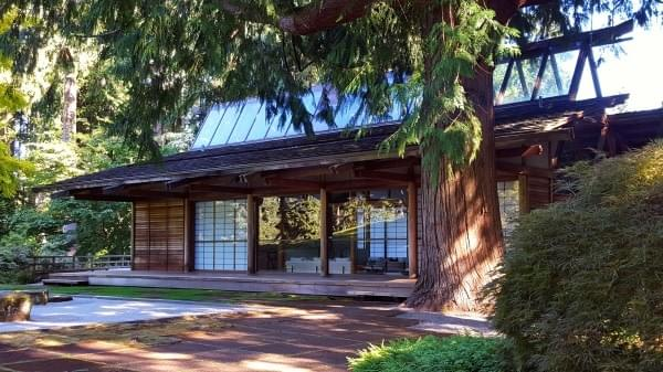 """Japanese House"" at The Bloedel Reserve, Bainbridge Island, Wash."