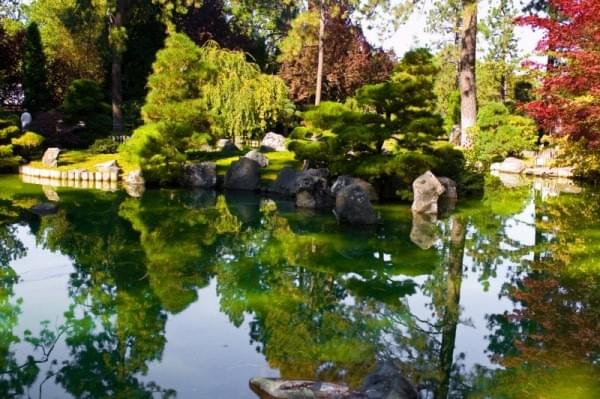 Japanese Garden at Manito Park, Spokane, Wash.