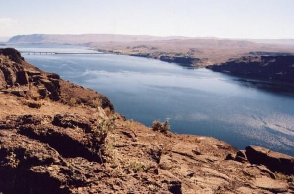Columbia River via Vantage, Wash.