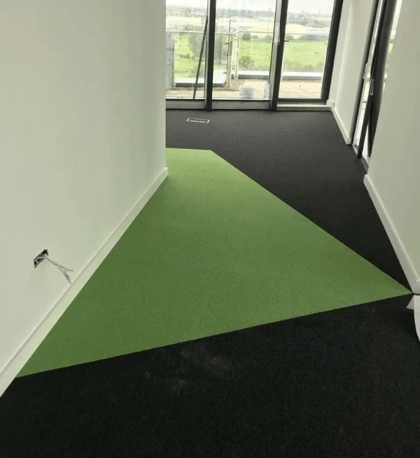 Complete fit out of new premises using Modulyss Carpet Tiles at AMCS. Flooring by LRK Flooring.