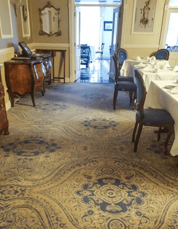 Fit out of bedrooms, dining rooms, and meeting rooms at Randles Hotel - Killarney. Flooring by LRK Flooring.