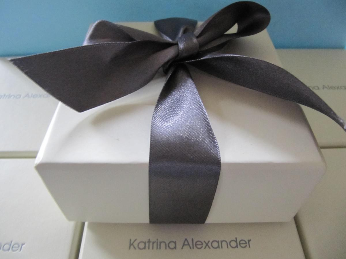 Katrina Alexander Deep Luxurious Jewellery Box made from high quality recycled paper
