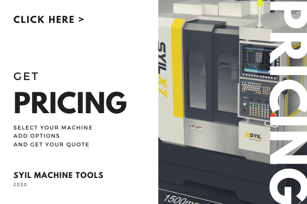 CNC machine price list