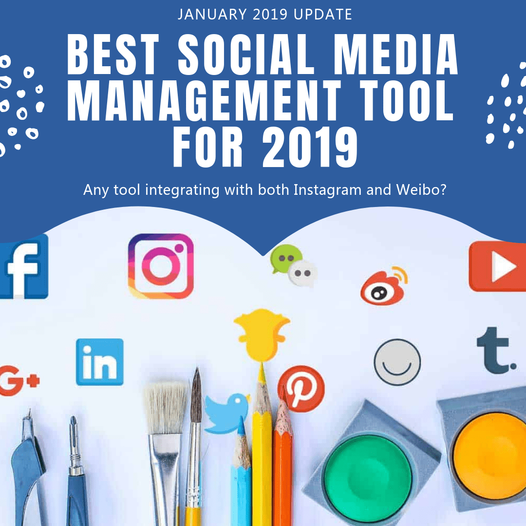 Best Social Media Management Tools for 2019