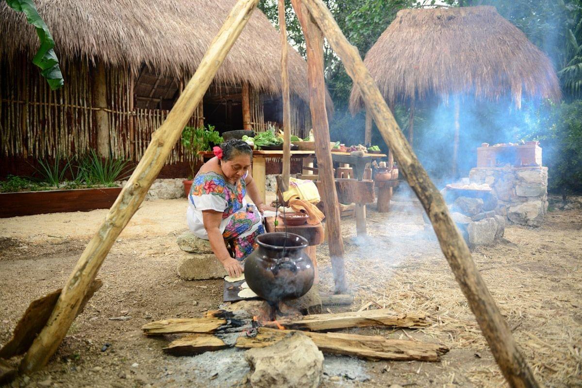 coba village mexique