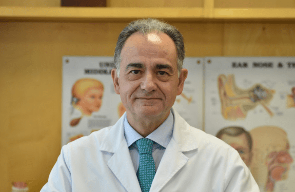 Dr. Carlos Magriñá, ent doctor and physician