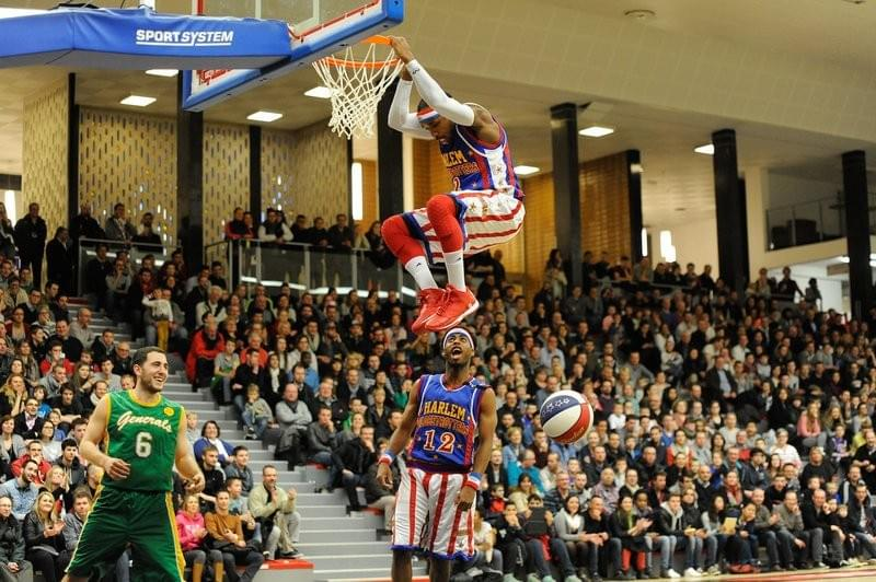 Lille basket-ball les harlem globe trotters en tournée match demonstration