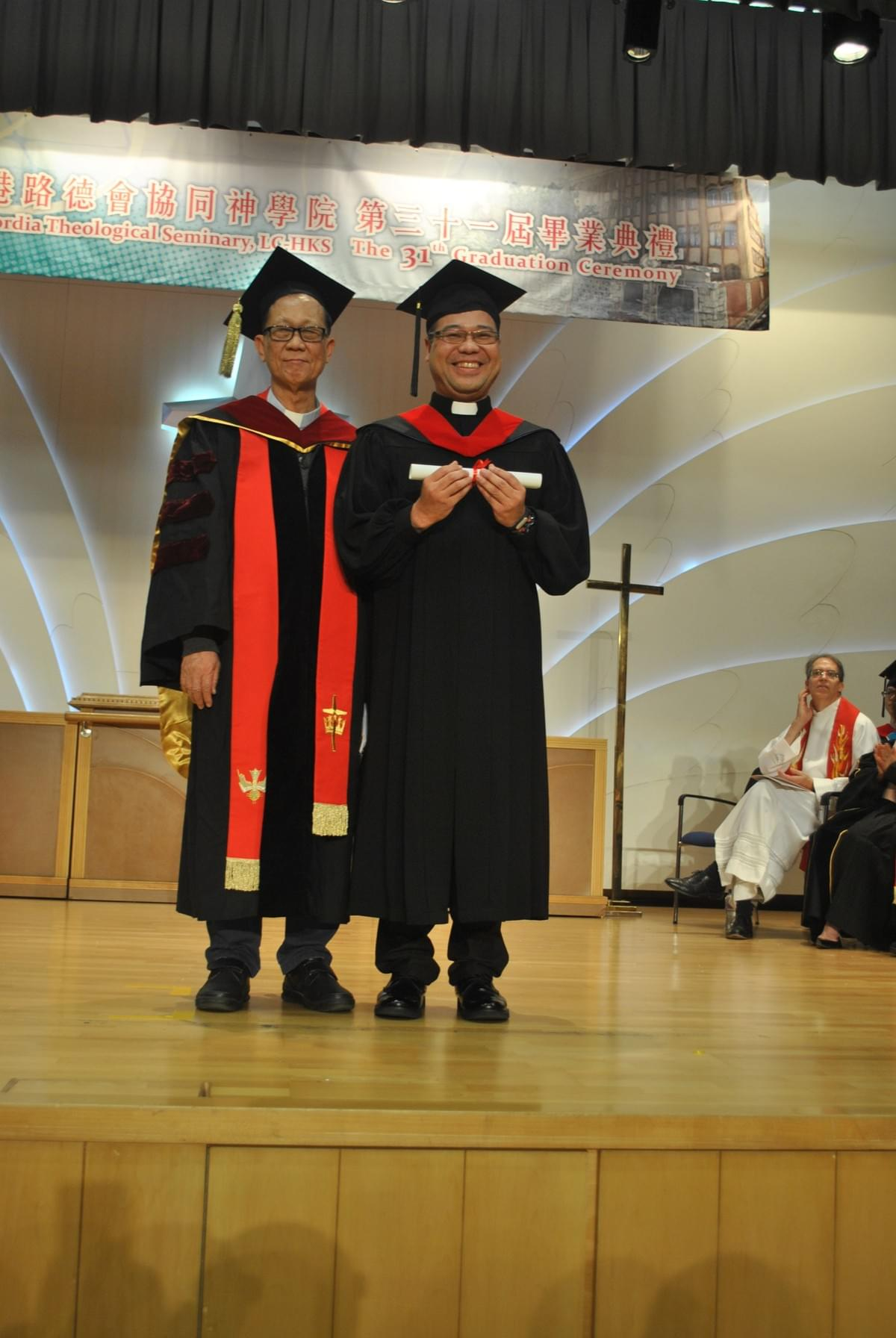 Dr. IP and Rev. LAU Siu Ming [MTS]
