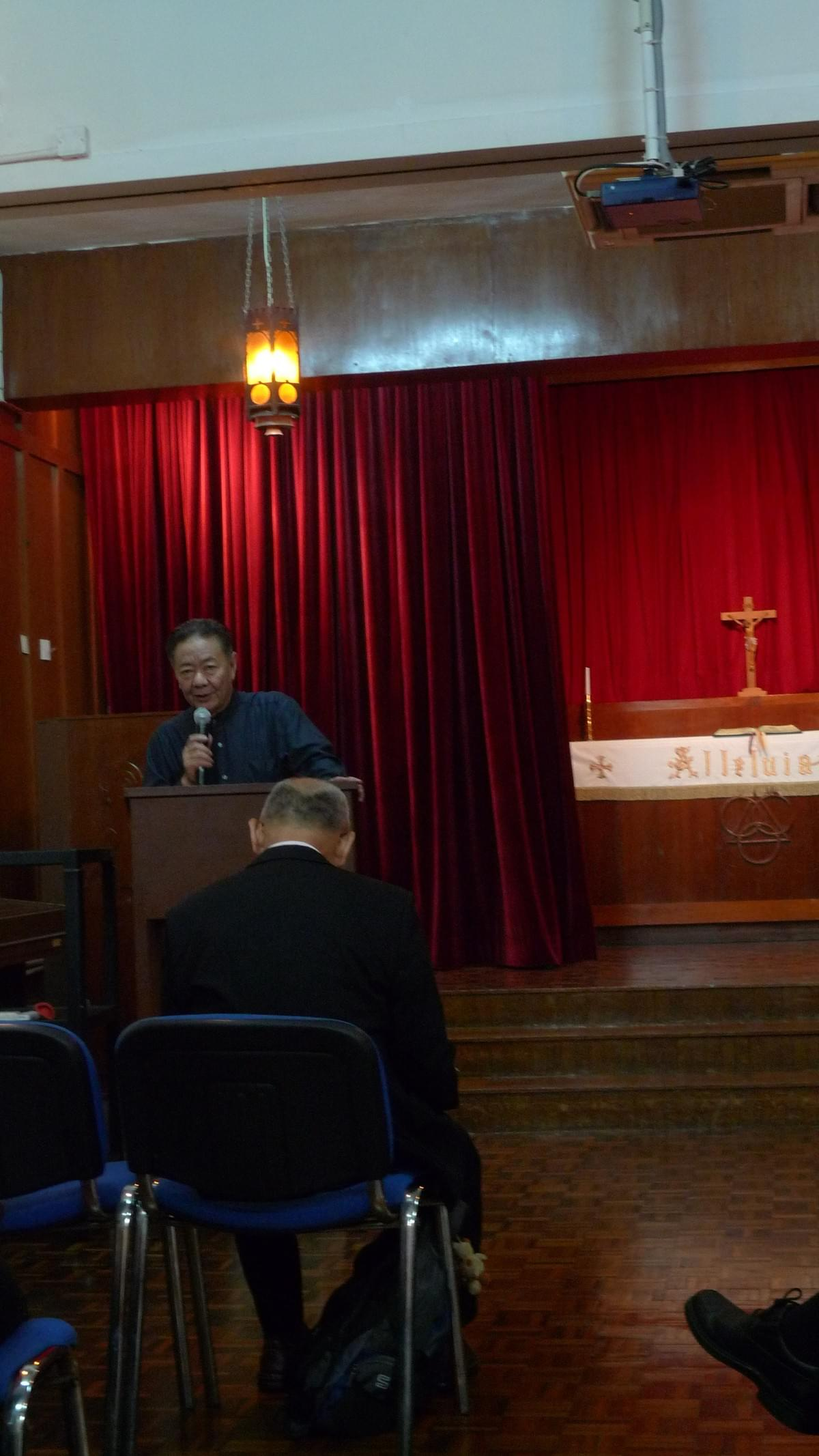 Rev. Dr. Allan YUNG Opening the Conference