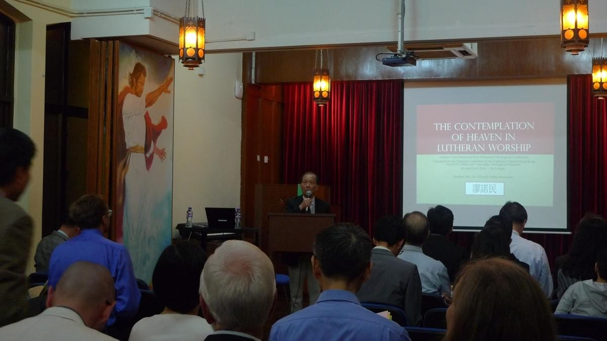 Rev. Paul CHAN Opening the Conference