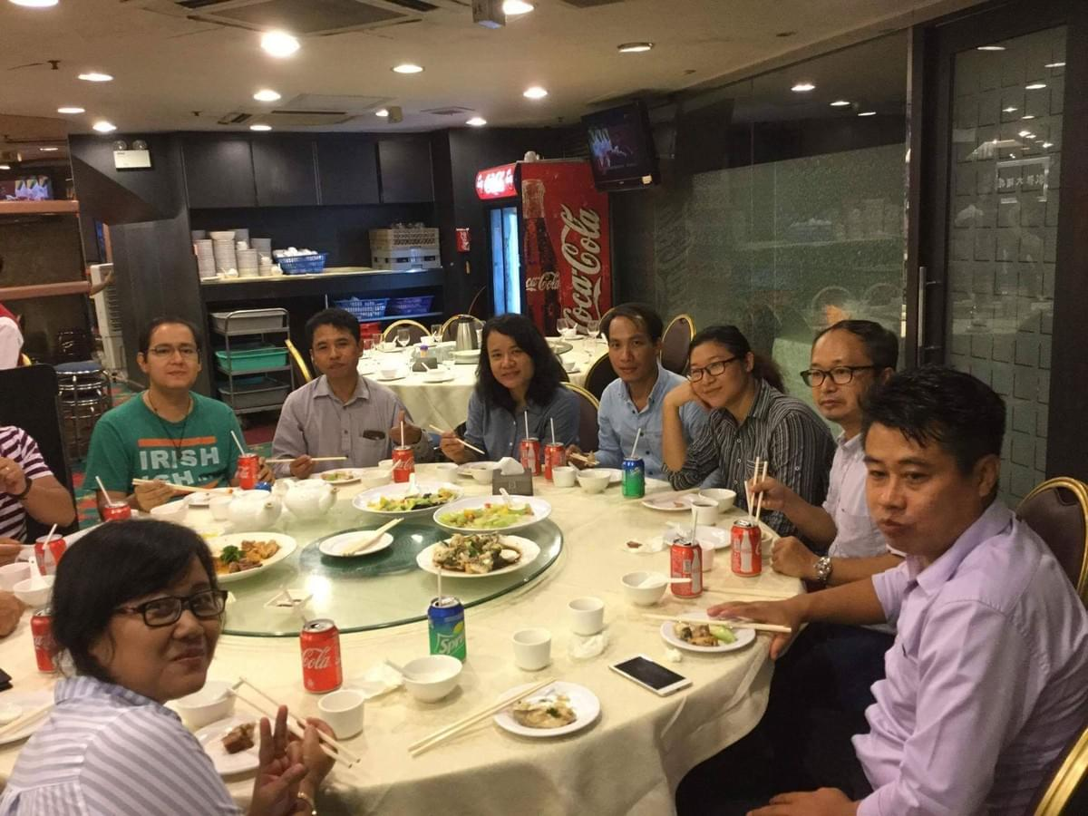 Dinner for the Myanmar Students (2)