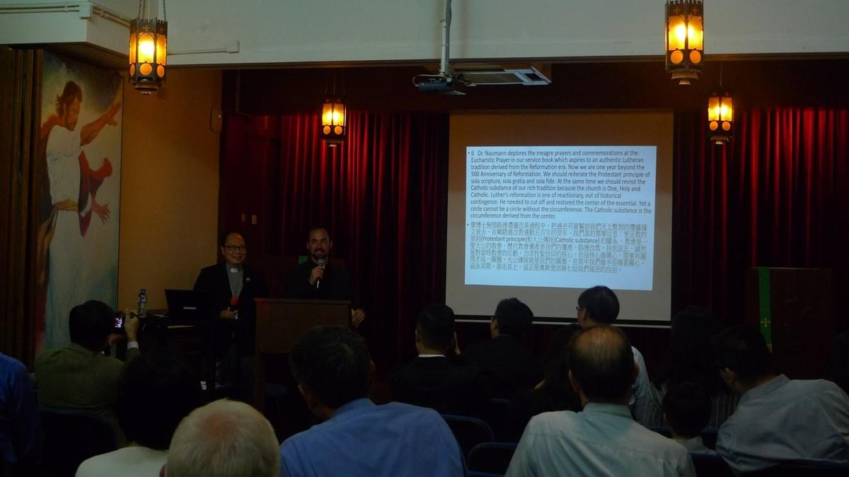 Discussion Moderated by Rev. Sam YEUNG